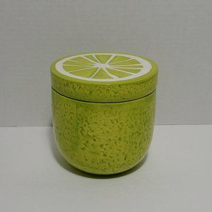 Fruit Shaped Canister Tropical Lime Fun Canister